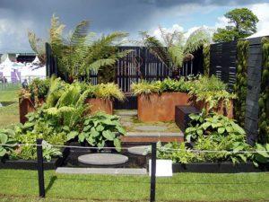 Award winning Fern Show Garden at Gardening Scotland