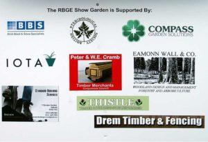 RBGE Show Garden sponsors