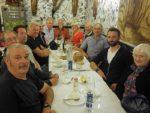 2017: Sao Miguel, Azores, group photograph in a restaurant in Ponta Delgada