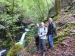 2016: Galicia, Spain, Tim with Bruce and Andrew
