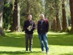 Roland and Tim at Benmore