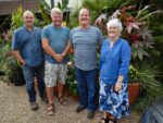 Steve's Garden with Tim and Paul, August 2015