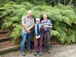 Tim, Yvonne and Roland at Logan Botanic Gardens