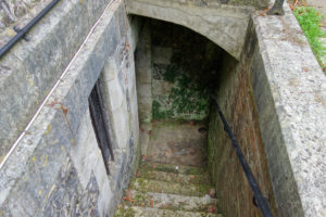The crypt at Christ Church Portsdown