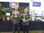 Robert and Alison with their trophies