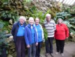 Some of the Wonderful Weeding team - Clive, Joan, Christina, Michael, and Sandra.