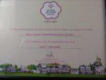 'It's Your Neighbourhood' Award Certificate - Level 5, 'Outstanding'