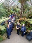 Visitors to the Fernery on 6th February. Photo: David Cobham